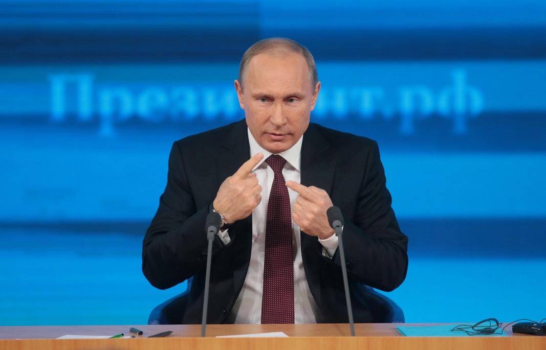 Vladimir Putin press-konferencija