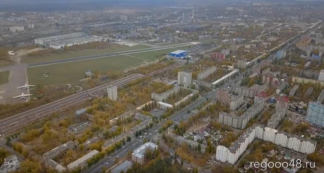 Воронеж вид с птичьего полета