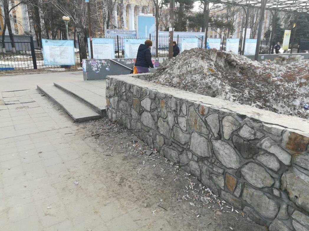 Новые фотографии подземного перехода на Московском проспекте превзошли фильм ужасов