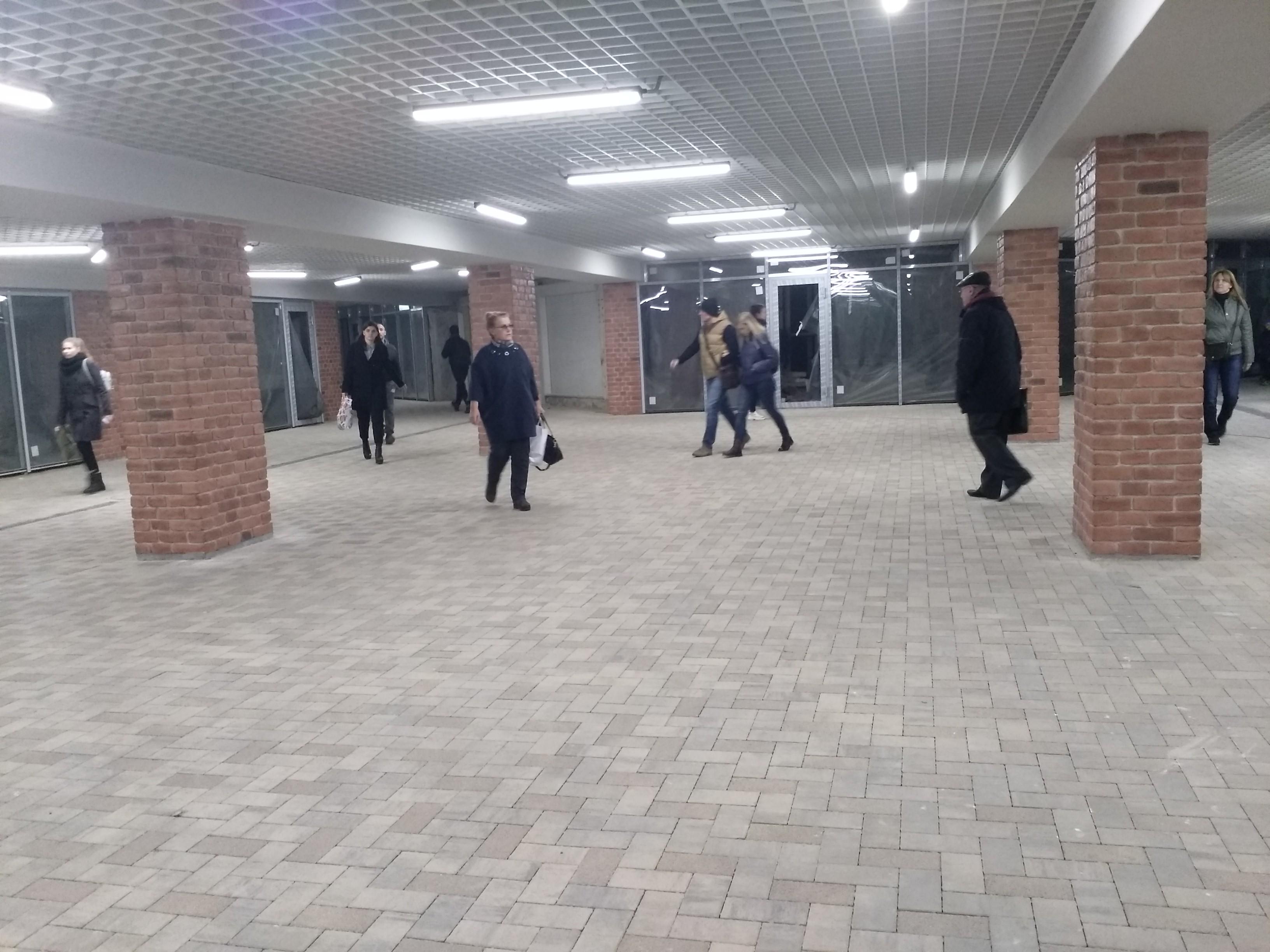 Подземный переход у цирка Воронеж