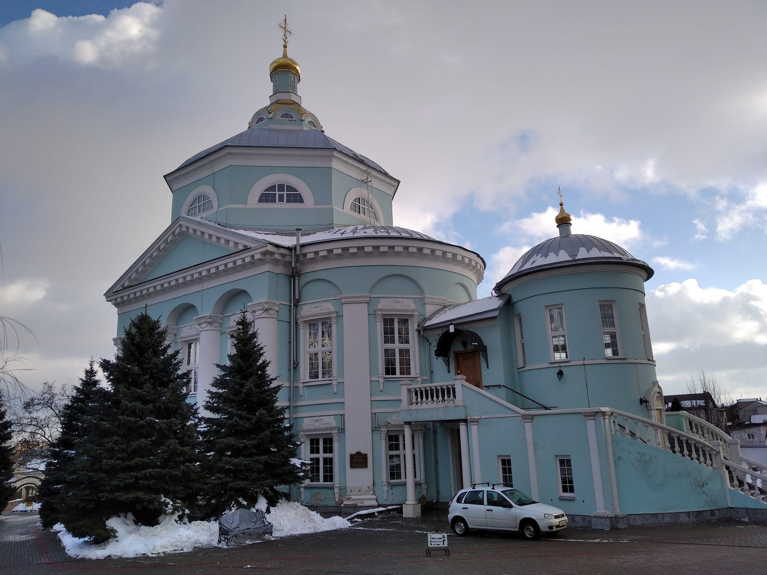 Алексиево-Акатов женский монастырь Воронеж