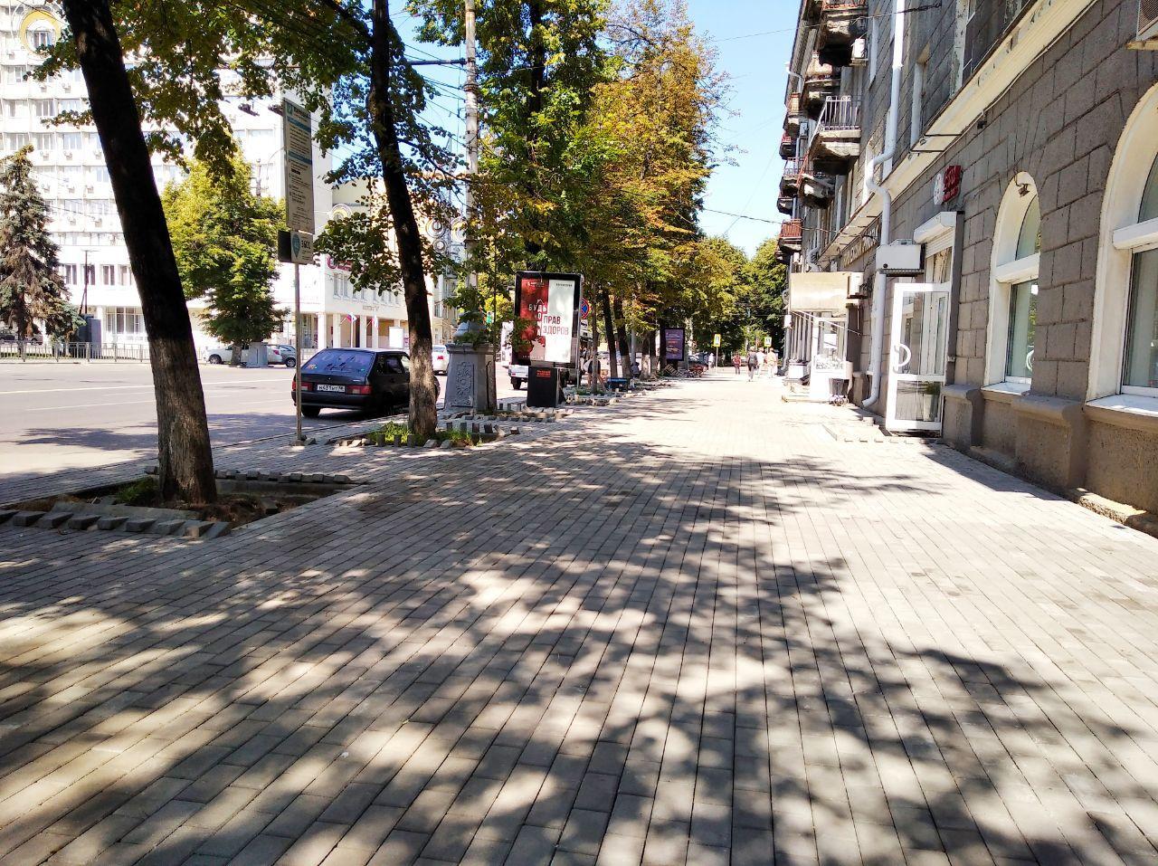 На ремонт тротуаров на Кирова потратили 4,1 млн. рублей. Что получилось, а что нет