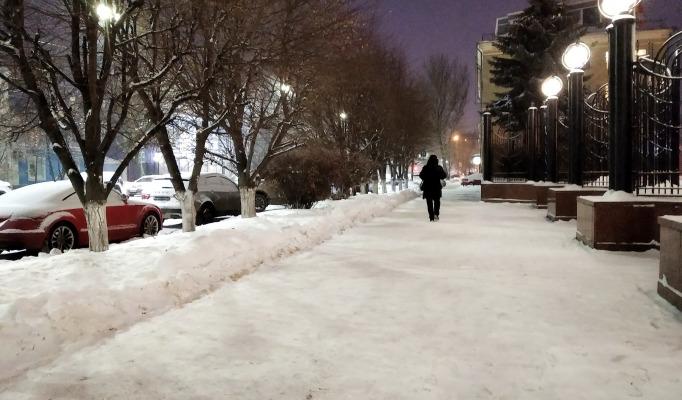 Воронеж зима 2021а