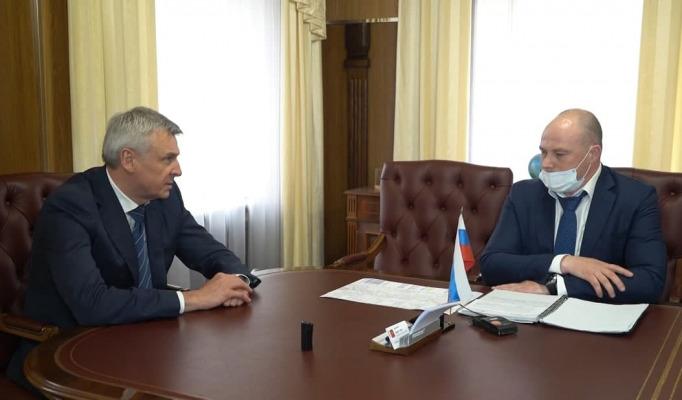 Юрий Камзолов и Сергей Носов