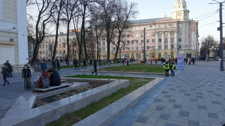 В Воронеже перед незаконной акции протеста в поддержку Навального задержали активиста штаба